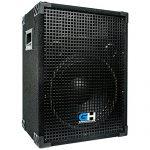 Grindhouse Speakers – GH12L-Pair – Pair of Passive 12 Inch 2-Way PA/DJ Loudspeaker Cabinets  – 700 Watt each  Full Range PA/DJ Band Live Sound Speaker 1