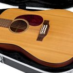 Gator Cases Deluxe ABS Molded Case for 12-String Acoustic Guitars; Fits Dreadnaught Styled 12-String Acoustic Guitars (GC-DREAD-12) 1