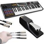 M-Audio Code 49 Black | 49-Key USB MIDI Keyboard Controller