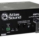 Atlas Sound AM1200 Low Profile Sound Masking System UL2043
