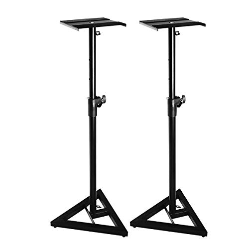 On Stage Adjustable Monitor Stands (Pair)