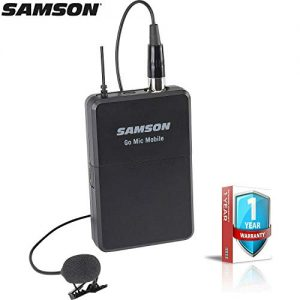 Samson Go Mic Mobile Wireless Beltpack and LM8 Lavalier