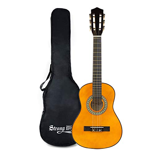 Strong Wind Classical Acoustic Guitar 30 Inch 6 Nylon Strings Guitar Beginner Kit