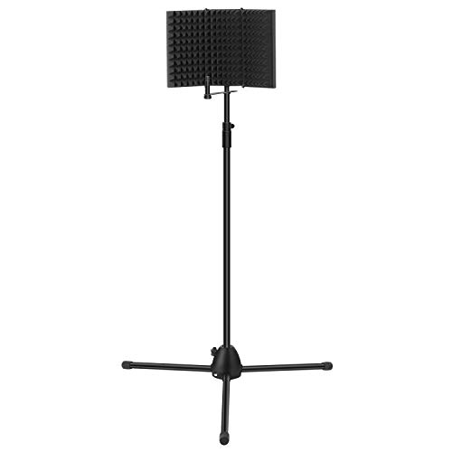 TONOR Microphone Isolation Shield and Stand Kit
