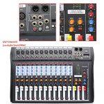 USB CT120S Sound Live Studio Mixer 12 Channel Line PRO Audio Mixing Consoles 1