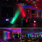 Par Lights DMX, RGB 36 LED DJ Stage light Sound Activated 7 Modes Uplighting with Remote Control DJ Equipment for Church Club Christmas Wedding Party Indoor Event Dance (2 Pack) 2