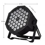 Par Lighting for Stage, 36x1W LED RGB 7 Channel with Remote for DJ KTV Disco Party (4 PCS) 1