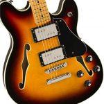 Squier by Fender Classic Vibe Starcaster – Maple Fingerboard – 3-Color Sunburst 3