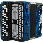 Brand NEW Russian Chromatic Button Accordion, Perfect Bayan for Beginner or Children / Kids, Tula Bn 41, 3 Rows, 80 Bass, Light Weight, Stradella 1