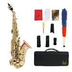 Muslady Bb Soprano Saxophone Sax Phosphor Copper