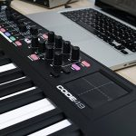 M-Audio Code 49 (Black) | USB MIDI Controller With 49-Key Velocity Sensitive Keybed, X/Y Pad, 16 Velocity Sensitive Trigger Pads & A Full-Consignment of Production/Performance Ready Controls 3