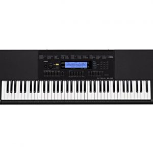 Casio 76-Key Touch Sensitive Keyboard with Power Supply