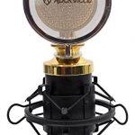 Rockville RCM02 Pro Studio Recording Condenser Microphone Mic+Metal Shock Mount 1
