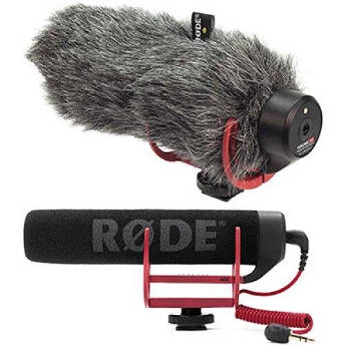 Rode VideoMic GO On-Camera Shotgun Microphone and DeadCat