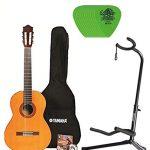 Yamaha Nylon String Classic Guitar Bundle with Padded Bag