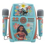 eKids Moana Digital Recording Studio with Dual Microphones – Record, Sing, and Create