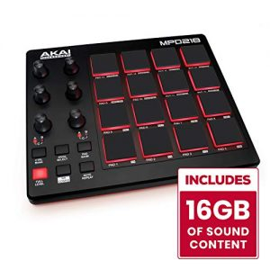 AKAI Professional | Ultra Portable USB Bus Powered 16 Pad USB/MIDI