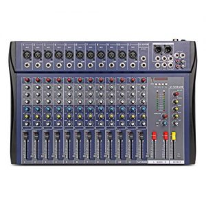USB Professional Stage Audio Mixer Built-in Digital Effect Mixer