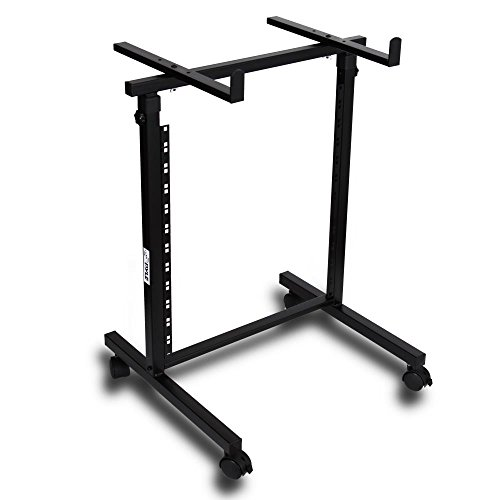 Universal DJ Stand Rack Mount - Heavy Duty Pro Electronic Music Equipment