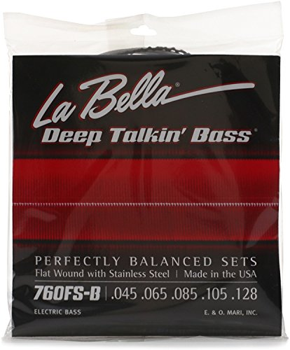 La Bella Flat Wound Bass 5 Strings Set