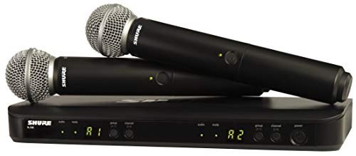 Shure Dual Channel Wireless Handheld Microphone System