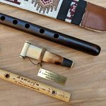 ARMENIAN DUDUK PRO from Apricot Wood, 2 Professional Reeds, National Leather Case, Playing Instruction and Free Gift Flute, ARMENIAN Handmade Woodwind Instrument, Oboe, Balaban 2