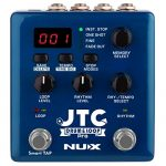 NUX JTC PRO Drum Loop PRO Dual Switch Looper Pedal 6 hours recording time