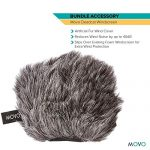Zoom H3-VR Virtual Reality Audio Recorder Microphone Bundle with Movo Windscreen and 32GB Memory Card 3