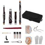 Bassoon,C Key Bassoon Fagotto Woodwind Instrument with Maple Wood Body 2
