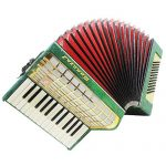 Russian Piano Accordion Yunost, 60 Bass, Light Weigh for Beginner Children