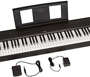 Yamaha 88-Key Weighted Action Digital Piano With Sustain Pedal And Power Supply