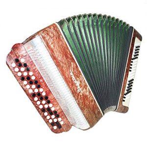 Bayan Ukraine, 3 Rows Folk Chromatic Button Accordion