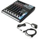 Pyle Professional Audio Mixer Sound Board Console – Desk System Interface with 6 Channel, USB, Bluetooth, Digital MP3 Computer Input, 48V Phantom Power, Stereo DJ Streaming & FX16 Bit DSP-(PMXU63BT) 1