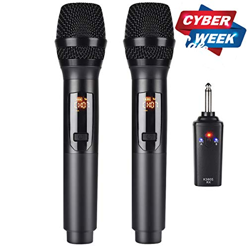 Kithouse Rechargeable Wireless Microphone Karaoke Microphone Wireless