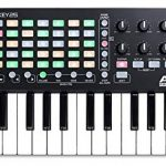 Akai Professional APC Key 25 | Compact USB Bus-Powered 40-Button Clip Launcher for Ableton Live with 25-Note MIDI Keyboard and 8 Fully-Assignable Q-Link Controls plus VIP 3.0 and Software Package 3