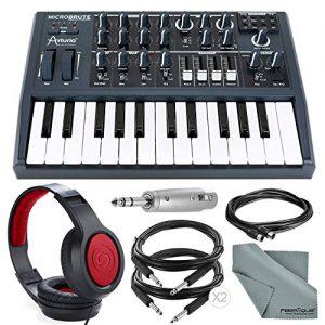 Arturia Microbrute 25-Note Mini Keyboard Analog Synthesizer