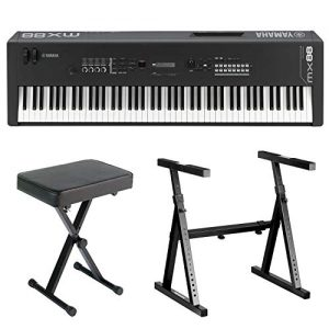 Yamaha 88-Key Music Synthesizer Complete Bundle