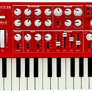Arturia MicroBrute SE Analog Synthesizer RED + Analog Lab 2 software