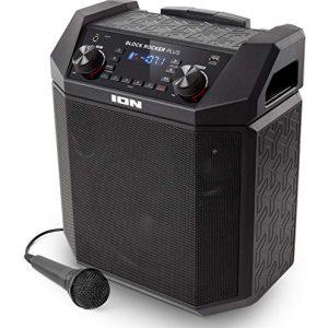 ION Audio Block Rocker Plus   100W Portable Speaker, Battery Powered
