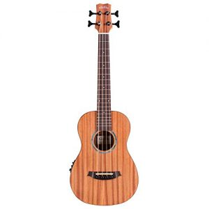 Cordoba Guitars 4 String Acoustic-Electric Bass Guitar, Right, Natural