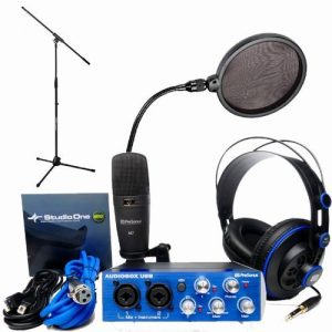 PreSonus AudioBox Studio Vocalist Bundle