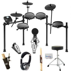 Alesis Nitro Mesh Electronic Drum Kit + Studio Headphones