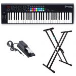 Novation Launchkey Keyboard Controller with Knox Keyboard Stand