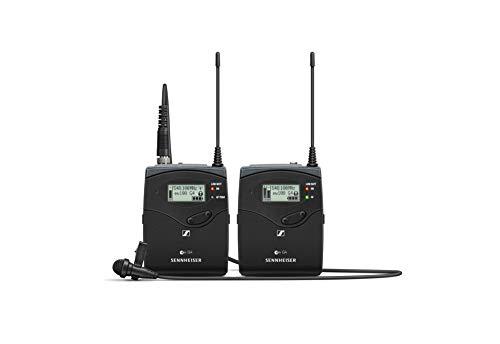 Sennheiser Omni-directional Wireless Lavalier Microphone System