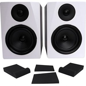 "Pair Rockville APM6W 6.5"" 2-Way 350W Powered USB Studio Monitor"