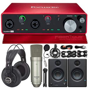 Focusrite Scarlett 4i4 USB Audio Interface (3rd Generation) + PreSonus