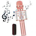 GOCTOS Karaoke Bluetooth Wireless Microphone 3 in 1 Portable Handheld