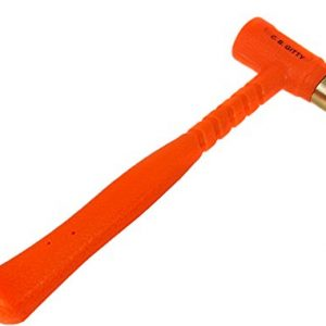 12-ounce Brass Head Dead-blow Fretting Hammer