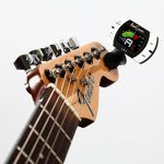 Real Tuner – Chromatic Clip-on Tuner for Guitar, Bass, Violin, Ukulele, Banjo, Brass and Woodwind Instruments – Bright Full Color Display – Extra Mic Function – A4 Pitch Calibration – Transposition 2