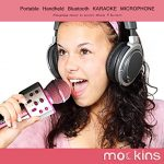 mockins Wireless Bluetooth Karaoke Microphone with Built In Bluetooth Speaker All-in-One Karaoke Machine | Compatible with Android & Ios Iphone – Purple Color 1